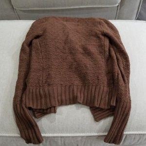 Hollister Sweaters - Medium brown cardigan